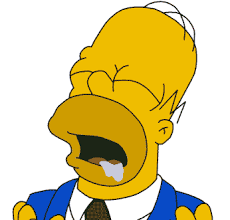 Drooling Meme - nom simpsons homer hungry 1402439368534 gif 320纓240 pixels gif