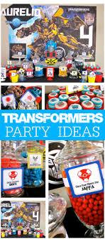 optimus prime birthday party transformers birthday transformers 4th birthday party