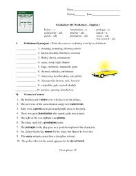 6th grade context clues worksheets 6th grade printable