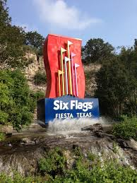 Parking At Six Flags Fiesta Texas Theme Park Overload