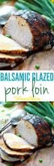 Balsamic Roast Beef In Oven Balsamic Glazed Pork Loin The Seasoned Mom