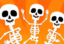 dancing halloween skeleton background the skeleton dance super simple songs