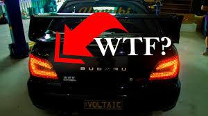 custom supra tail lights custom tail lights illegal youtube