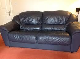 Leather Sofa Used Emejing Black Leather Sofa 2 Seater Ideas Liltigertoo