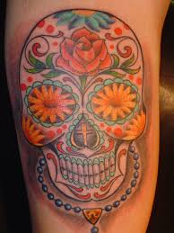 sun flower sugar skull picture at checkoutmyink com