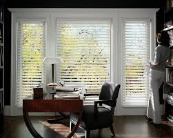 home office window treatments black window valance office design idea and decorations an