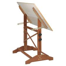 Drafting Table Reviews Alvin And Co Pavilion Wood Drafting Table Reviews Wayfair Within