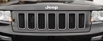 jeep cherokee black 2012 2012 srt8 jeep grand cherokee grill mopar 1ty96tzzae unpainted