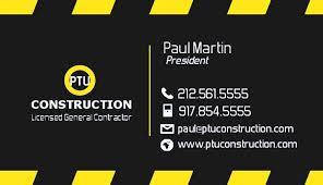 Construction Company Business Cards Unique Construction Company Business Cards Ideas Emetonlineblog