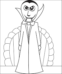 halloween vampire coloring pages free printable vampire coloring page for kids 2