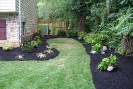 B B Landscaping by Simple Square Backyard Landscaping Ideas Backyard Fence Ideas