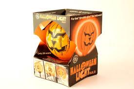 halloween pumpkin animation vintage halloween pumpkin face light bulb by ge in original box