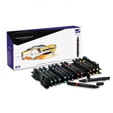 prismacolor marker set ended chisel tip marker sets by prismacolor cheap joe s