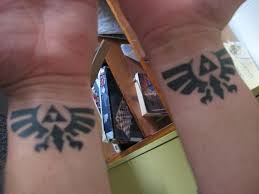 double wrist zelda tattoos by oath keeper on deviantart