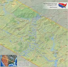 Map Of N Carolina North Carolina Eclipse U2014 Total Solar Eclipse Of Aug 21 2017