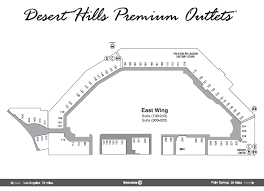 cabazon outlets map photo desert premium outlets east wing