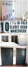 Making Bi Fold Closet Doors by Diy Bi Fold Closet Door Makeovers Closet Doors Doors And Closet