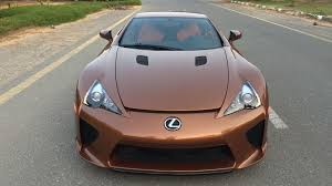 lexus lfa 2016 price one off lexus lfa looks magnificent in pearl brown autoevolution