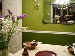 Two Tone Dining Room Paint Try Two Toned Paint Ideas For Your Dining Room Zimbio