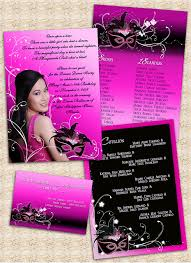 18th birthday invitation card masquerade theme our boss u0027 d u2026 flickr