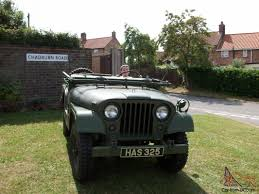 jeep green 1953 american canadian willy jeep green tax exempt historical m38 a1