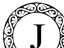 Letter Monogram Letter J Monogram Clip Art At Clker Com Vector Clip Art Online