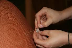 Nail Back Upholstery Buttons 2011 September Lynn Spin