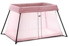 baby bjorn travel crib light amazon com babybjorn travel crib light pink baby