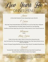 024 grille at memorial city new year u0027s eve dinner menu 024