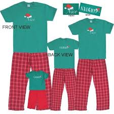 pajamas for the whole family