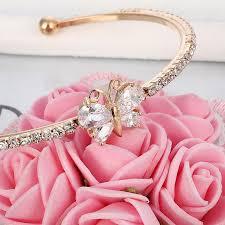 cuff bracelet girl images Minhin new arrival romantic butterfly design cuff bracelet high jpg