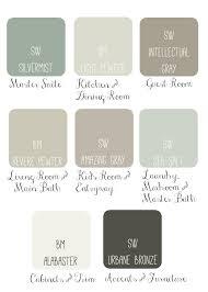 today i put together a whole house paint scheme i like to see how