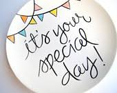 it s your special day plate items similar to it s your special day small plate by aedriel