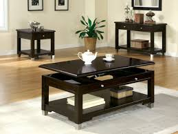 Lift Top Coffee Table Plans Sauder Edge Water Lift Top Coffee Table Estate Black Finish Lift