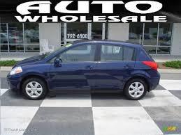 blue nissan versa 2008 blue onyx nissan versa 1 8 sl hatchback 12962369 gtcarlot