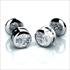 mens studs diamond stud earrings