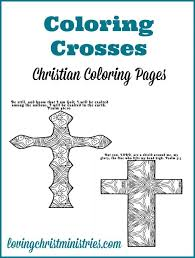 coloring crosses christian coloring pages adults