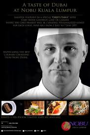 cuisine hervé chasing food dreams taste of dubai with chef hervé courtot nobu
