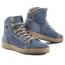 motorcycle shoes stylmartin melbourne motorcycle sneakers denim blue buy