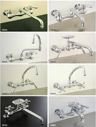 Kitchen Faucets Single Handle With Sprayer by Wall Mount Kitchen Faucet Single Lever Wall Mount Kitchen Faucet