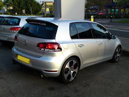 volkswagen silver silver vw golf gti mk6 back a photo on flickriver
