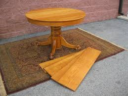 Antique Round Dining Table Hastings Co 48
