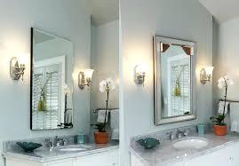 frameless recessed medicine cabinet frameless mirrored medicine cabinet in frameless oval mirror