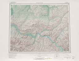 Alaska Rivers Map by