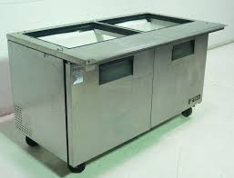 Used Sandwich Prep Table by Used Stainless Refrigerated 2 Door Prep Top Sandwich Salad Unit