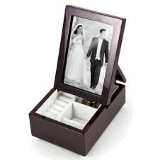 jewelry box photo frame ultra modern fold up 6 x 4 photo frame musical jewelry box