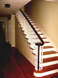 best home interior design stairs with wooden fence homelk com
