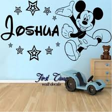 28 baby mickey mouse wall stickers free shipping baby baby mickey mouse wall stickers personalised name mickey mouse wall sticker classic baby