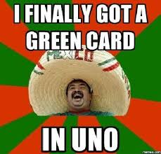 Green Card Meme - 3 and a half years later i receive my green card a new life