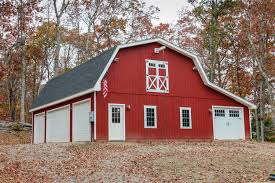 Garages That Look Like Barns by Patriot Gambrel Style 1 Story Garage The Barn Yard U0026 Great
